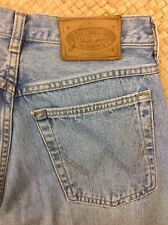"""Wrangler Rancherox stonewashed jeans. 32""""W, 32""""L. Button fly. Great condition."""
