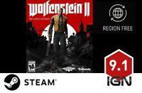 Wolfenstein II: The New Colossus [PC] Steam Download Key