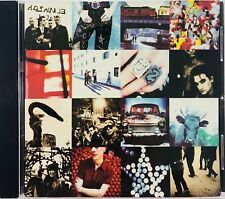 U2 Achtung Baby CD Canadian Import Rare Zoo Station One The Fly So Cruel Acrobat