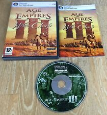 Age Of Empires III The WAR CHIEFS Pc Cd AOE 3 WARCHIEFS Add-On Expansion Pack