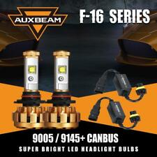 AUXBEAM 9005 60W 6000LM HB3 LED Headlight Bulb Bright +Error Free Canbus Decoder