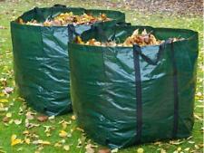 2 X Heavy Duty Garden Bag Waste Weeds Leaves Bin Cutting Refuse Sack Bag 150L