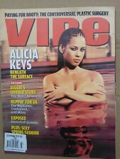 VIBE MARCH 2004 alicia keys
