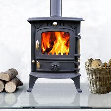 5.5KW High Efficient Cast Iron Log Burner Multifuel Wood Burning Stove CE JA013S