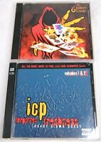 ICP Insane Clown Posse - Forgotten Freshness Volumes 1 & 2 And Vol 3 CD Lot [PA]