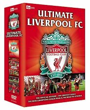 NEW! The Ultimate Liverpool FC Official Collection 4-Disc DVD Box Set