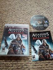Assassin's Creed: Revelations (Sony PlayStation 3) PS3 GAME COMPLETE L35