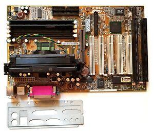 ASUS P3B-F motherboard CPU Pentium II 400Mhz RAM 256MB DIMM Retrogame Win98 DOS