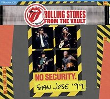 ROLLING STONES CD - FROM THE VAULT: NO SECURITY. SAN JOSE '99 [2CD/1BLU-RAY] NEW