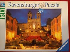 1500 Piece Jigsaw Puzzle Ravensburger The Spanish Steps Rome Italy