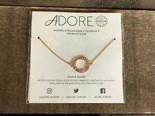 Adore Stack & Sparkle Swarovski Crystal Jewelry Necklace Pendant New