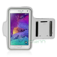 Armband fascia braccio Sport per Samsung Galaxy S7 Edge G935F BIANCA BND7 cover
