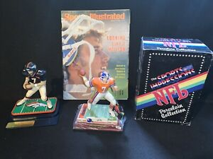 John Elway 1990 Sports Impressions  Lot Starting Lineup Box Denver Broncos Si