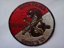 US Q Troop 4th Squadron 3rd Armored Cavalry Regt QUICK SILVER GUNS R US Patch
