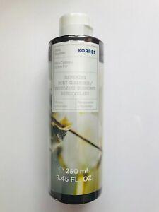 KORRES RENEWING  SHOWER GEL - PURE COTTON  (Full Size 8.45oz/250ml/Sealed)