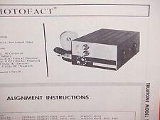 1966 TRUETONE CB RADIO SERVICE SHOP MANUAL MODEL 1250B