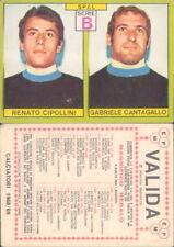 FIGURINA CALCIATORI PANINI A-1968/69 *SPAL,CIPOLLINI/CANTAGALLO*NUOVA,PERFETTA