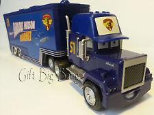 Disney Pixar Car Mack No.51 Fabulous Hudson Hornet Hauler Truck Toy Car 1:55 New