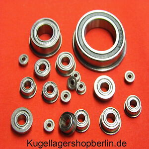 Rillenkugellager MR104 ZZ = WBC4-10ZZA  4x10x4 mm 1 EZO Miniatur Kugellager