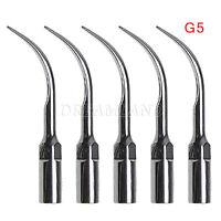 5* G5 Dental Ultrasonic Piezo Scaler Scaling Tips Fit EMS WOODPECKER Handpiece C
