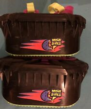 Vintage 1989 Hart MOON SHOES Anti-Gravity Trampoline Jump Boots + Extra bands