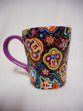 Mickey Mouse Friends Disney Parks Exclusive Quilt Design Coffee Mug Cup