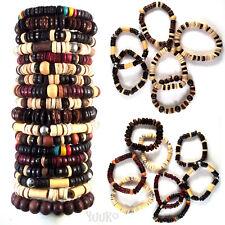 Elastic BRACELET For Men Women Male Female Wristband with Wooden Beads