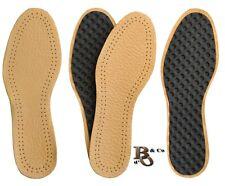 Semelles Cuir Agneaux Véritable Tannage Naturel + Charbon Actif chaussure