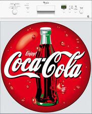 Sticker lave vaisselle Coca Cola 60x60cm réf 101