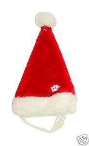 Plush Puppies Holiday Pet Santa Hat