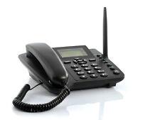 Wireless GSM Desk Phone Quadband SIM Card SMS Desktop