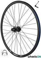 QR 700c wheelsON Rear Wheel Hybrid/MTB 8/9/10 speed Black 32H Disc Brake Black