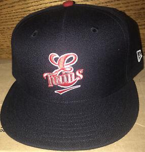 Elizabethton Twins MiLB New EraCap Hat Minnesota Sz 7 1/2 Defect Small Logo