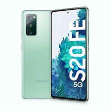 Samsung Galaxy S20 FE 5G Cloud Mint, SIM+eSIM, 128GB 6GB, Official Warranty