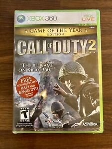 Call of Duty 2 - Game of the Year Edition (Xbox 360, 2006) NEW + SEALED