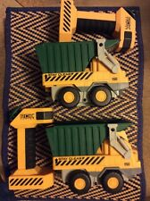 Lot of 2 Rokenbok Junior Beginning Builder 07100 Construction Dump Truck Rok Jr