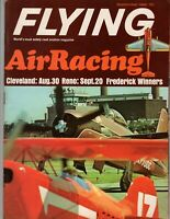 Flying Magazine Airplane  September 1968 AirRacing aerobatics Pentax  Waco Vela