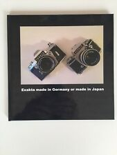 Exakta made in Germany and made in Japan