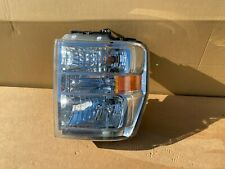 OEM 2008-2010 FORD F450 HALOGEN HEADLIGHT LEFT DRIVER SIDE