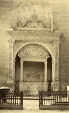 France Dol de Bretagne Renaissance Mausoleum old Albumen Photo 1880