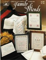 Family & Friends Special Occasion Samplers Cross Stitch | Jean Farish #26