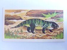Brooke Bond Prehistoric Animals tea card 7. Stenaulorhynchus. Dinosaurs.