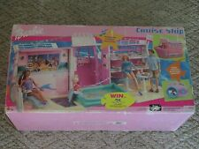 2002 Barbie Cruise Ship Playset Mattel Tropical Cruise Sounds New