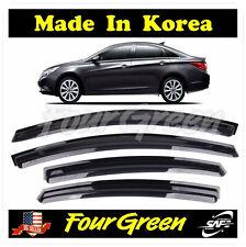 Smoked Window Sun Vent Visor Rain Guards 4PCS for 2011-2014 Hyundai Sonata ⭐⭐⭐⭐⭐
