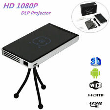 Mini Pocket Projector Mobile Wifi Bluetooth Speakers HD DLP LED 1080P Android