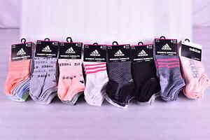 Women's Adidas Superlite No Show Socks - 6 Pair - Shoe SIze 5-10 - Choose Color