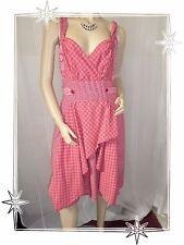 Robe Fantaisie à Bretelles Imprimée  Rose 2026 Modèle Rivage  Taille 4
