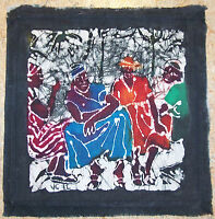 Caribbean Batik Artist Made Cotton Panel