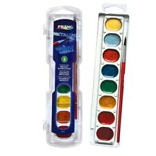 Prang Washable Watercolors Metallic Set  - 8-Color Metallic Set