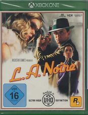 L.A. Noire-Xbox One-NEUF & neuf dans sa boîte Version Allemande-Take-Two Interactive